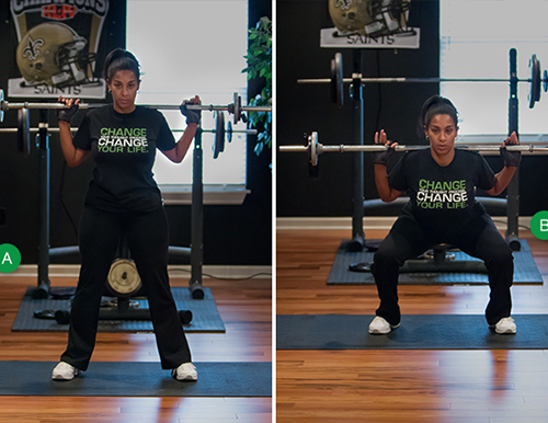 The Basic Squat: A Total Body Strengthening Exercise