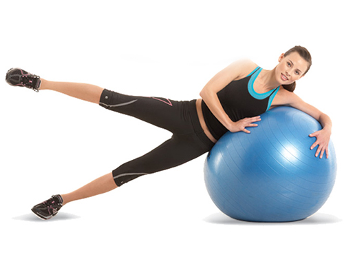 Leg Raises with Stability Ball