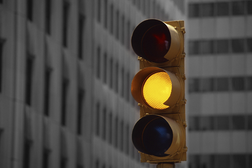 """Will you yield to the """"yellow signs"""" in your life?"""