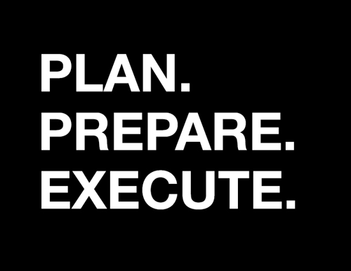 What are you prepared to accomplish today?