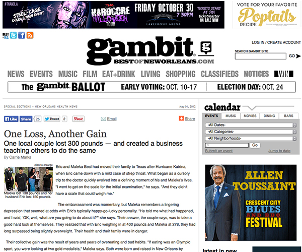 BC Press Features gambit